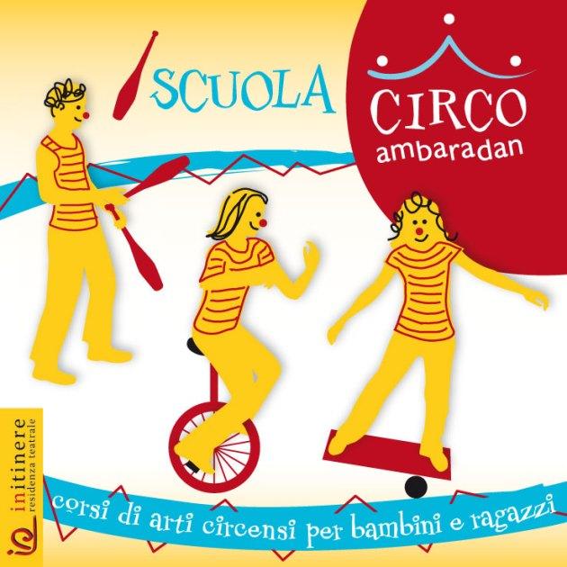 OPEN DAY SCUOLA CIRCO 2017/2018 | 18-20-22 settembre | 16:30-19:00 | Bergamo