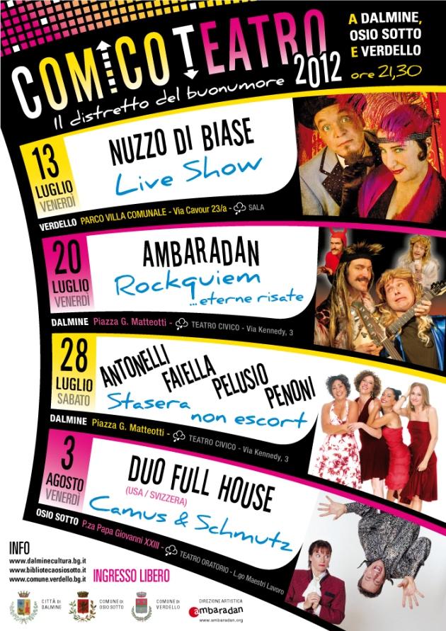 Comico Teatro 2012