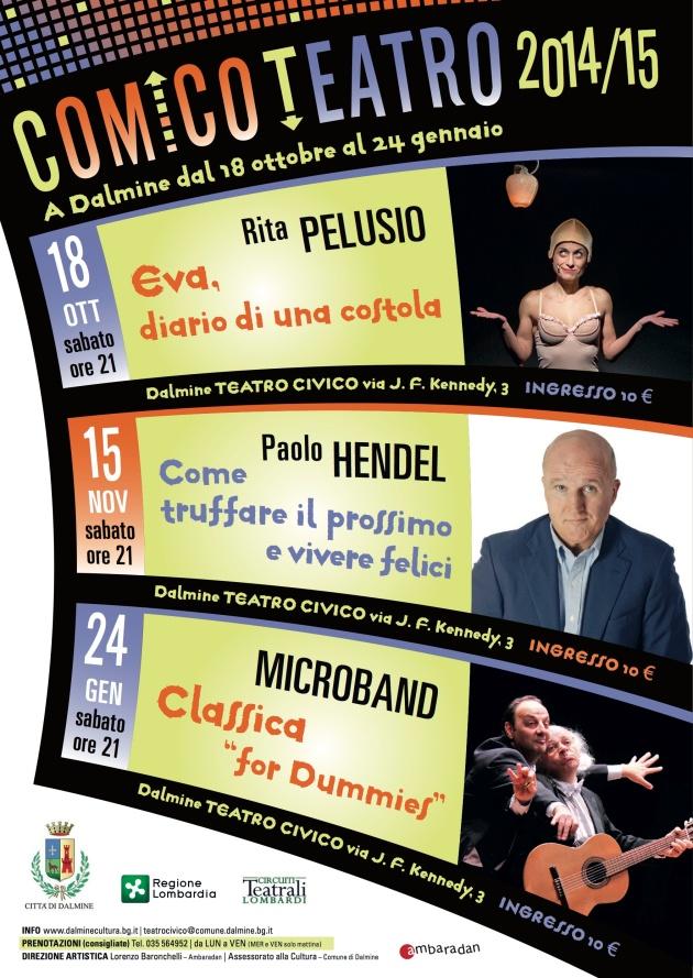 Comico Teatro 2014/2015 Locandina